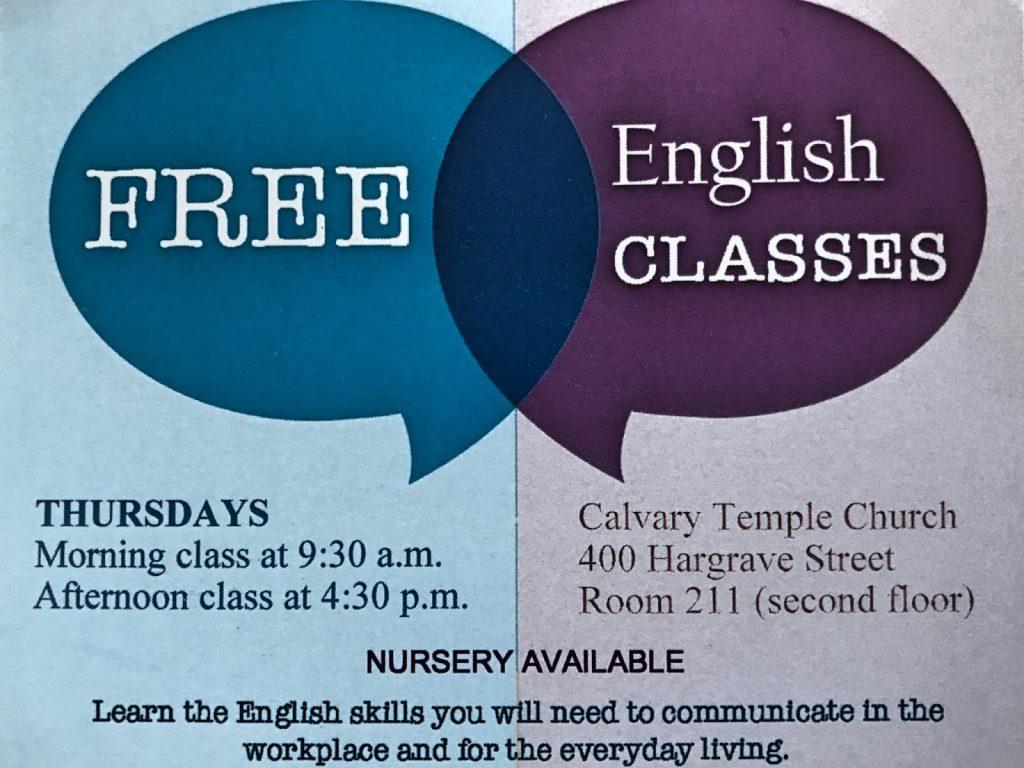 БЕСПЛАТНЫЕ уроки английского языка в Виннипеге